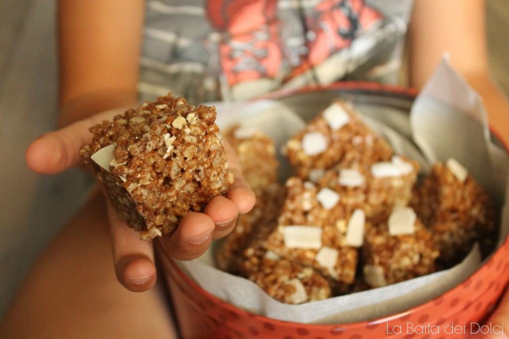 rice crispies cacao e cocco