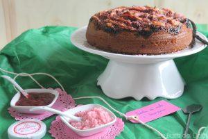 Torta mele e lamponi