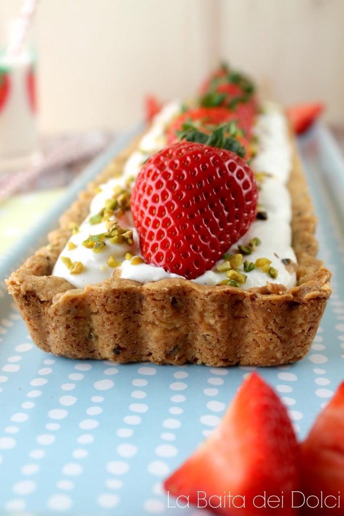 Crostata fragole pistacchio2