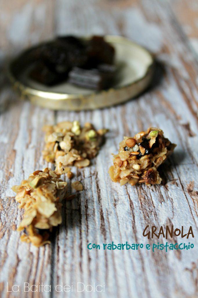 granola pistacchio