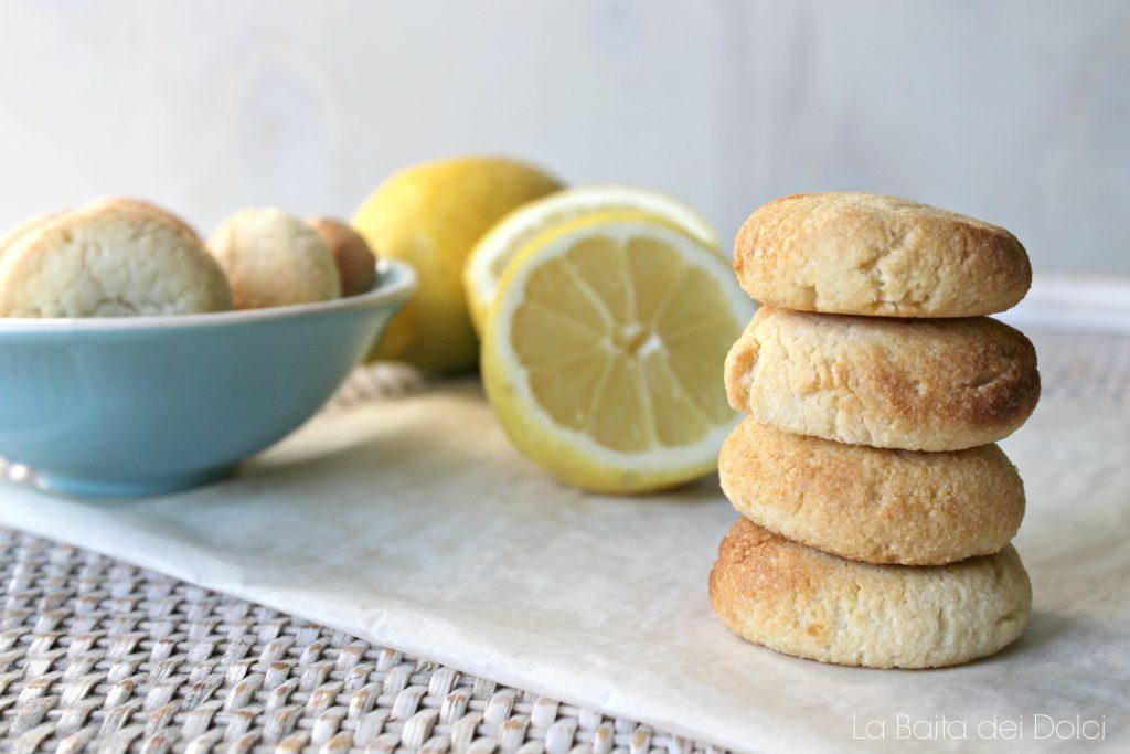 Biscottini mandorle e limone