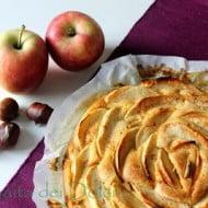 Torta di mele e castagne