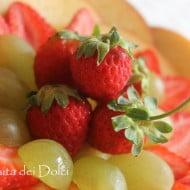 """""""Finta"""" crostata di frutta fresca senza forno"""