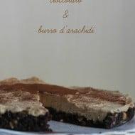 Cheesecake al cioccolato e burro d'arachidi