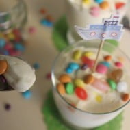 Mousse allo yogurt con sciroppo d'acero
