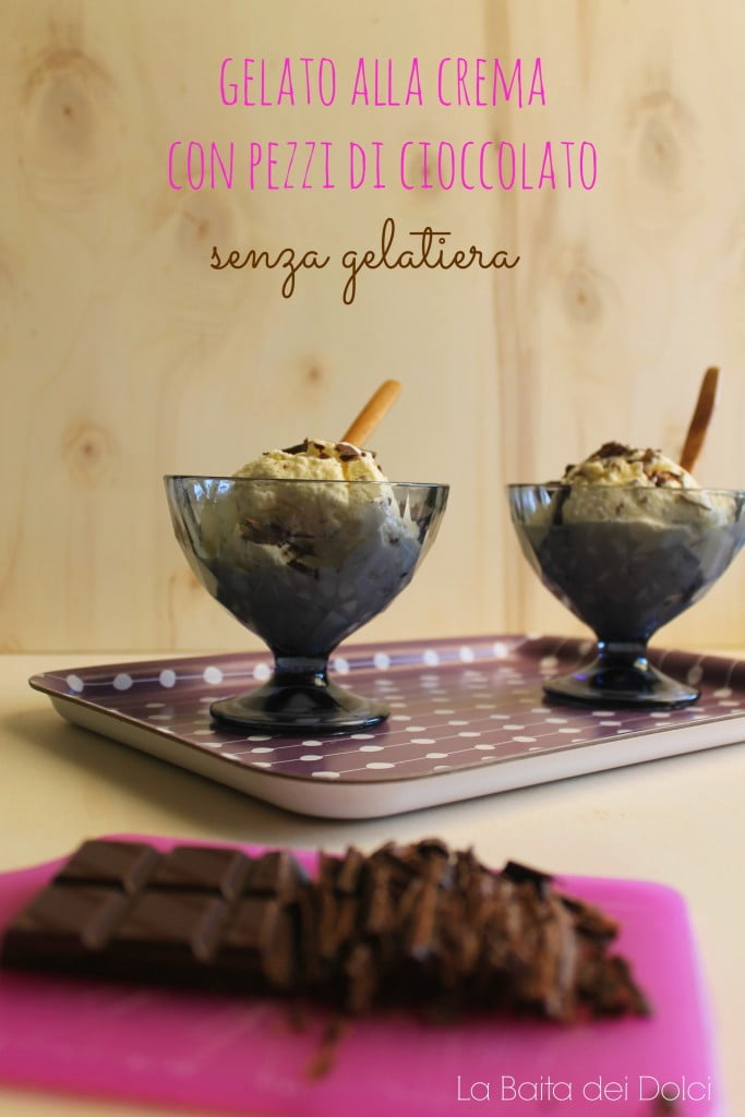gelato crema e cioccolato