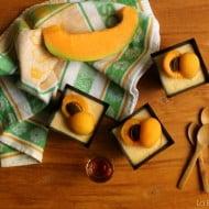 Semifreddo al melone con amaretto