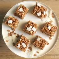 Rice crispies al cacao e cocco