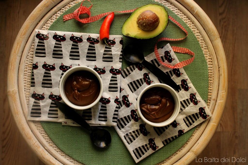 Mousse al cioccolato vegan