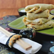 Frittelle cinesi con fagioli azuki