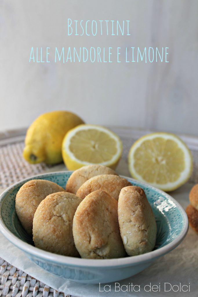 Biscottini mandorle limone