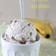 Gelato vegan alla banana
