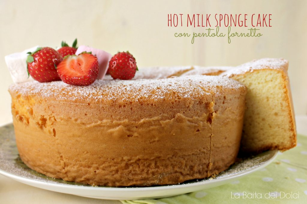 Hot Milk Sponge Cake 3