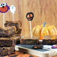Brownies al cioccolato e zucca
