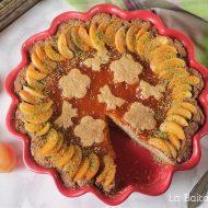 Crostata integrale alle albicocche