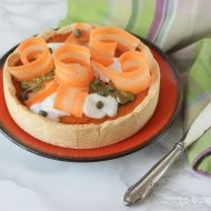 Torta salata alle carote
