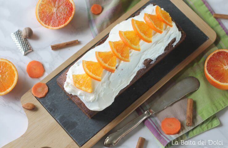 Cake di carote